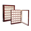 30 CT Wooden Glass Watch Display Cabinet