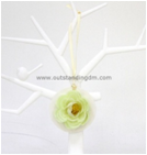 Customized Flower Shape New Air Clean Mini Hanging Paper Car Freshener
