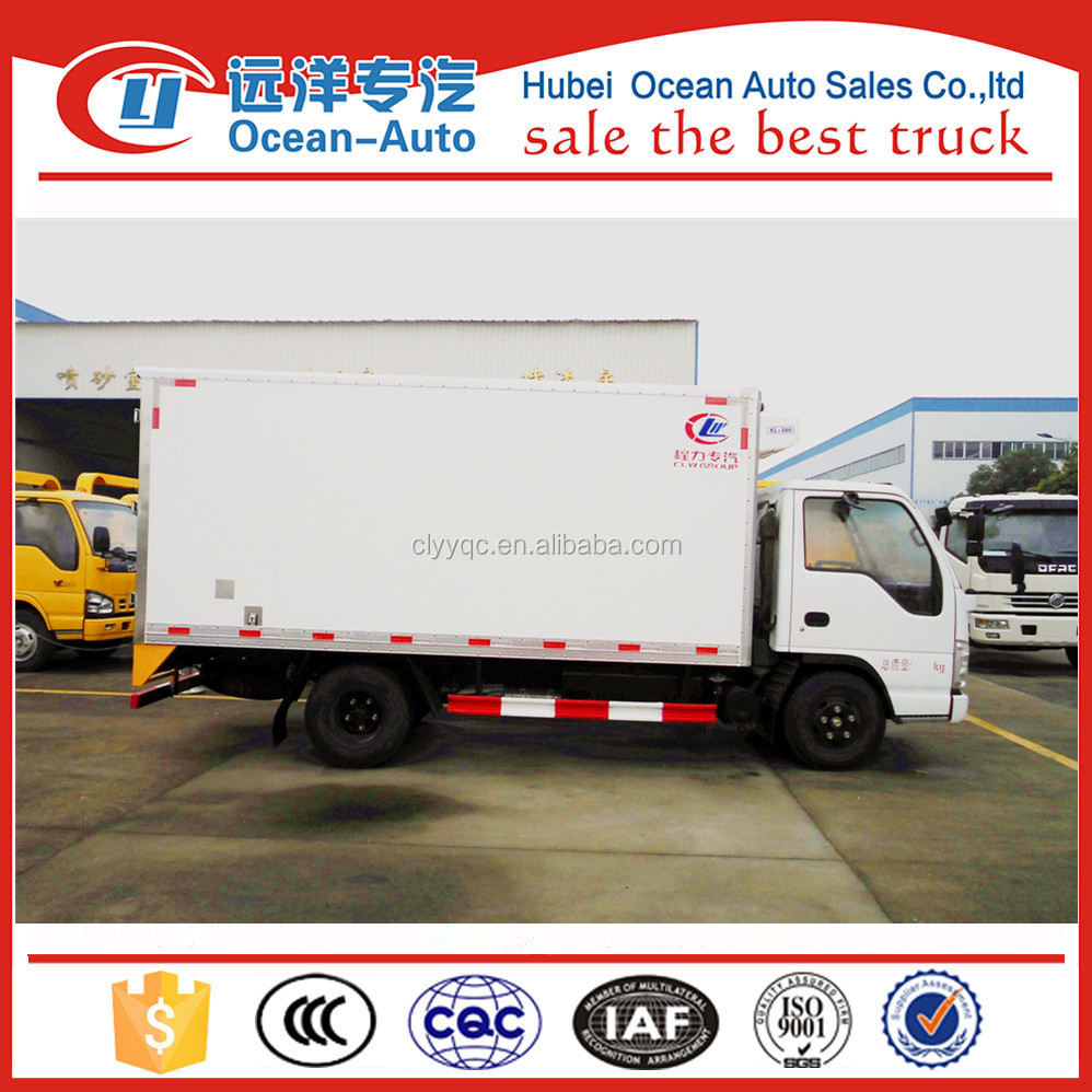 Mini 3TON Japan refrigerated van and truck