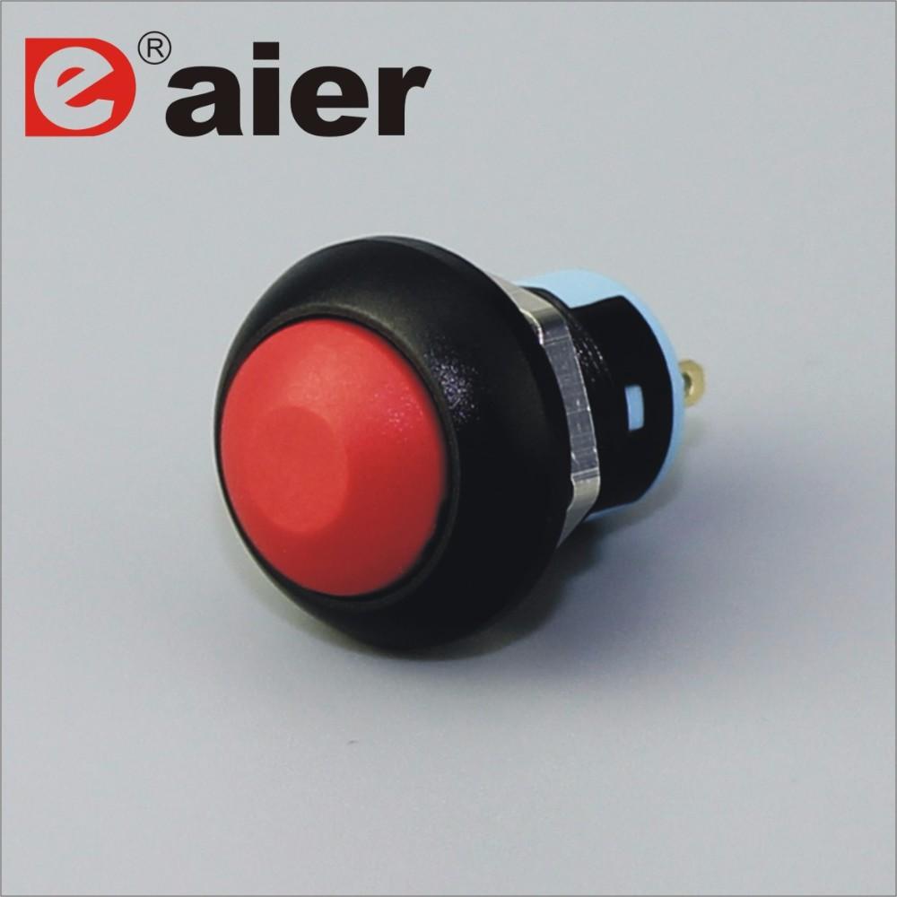 12mm 6a/125vac 3a/250vac Push Button Switch - Buy 6a/125vac 3a ...