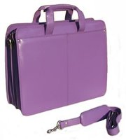 2010 multifunction purple laptop case/computer holder/computer bag