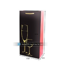 wine carrying bag clear wine cooler plastic bag leather wine bag carrier