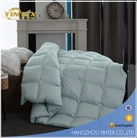 LUXURIOUS Queen Size Siberian GOOSE DOWN Comforter, 400 Thread Count 100% Egyptian Cotton