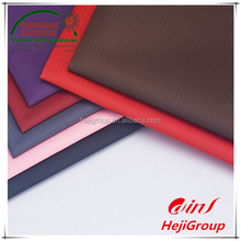 Strong and cheap ribstop oxford fabric PVC/PU coated 100% polyester fabric for laptop