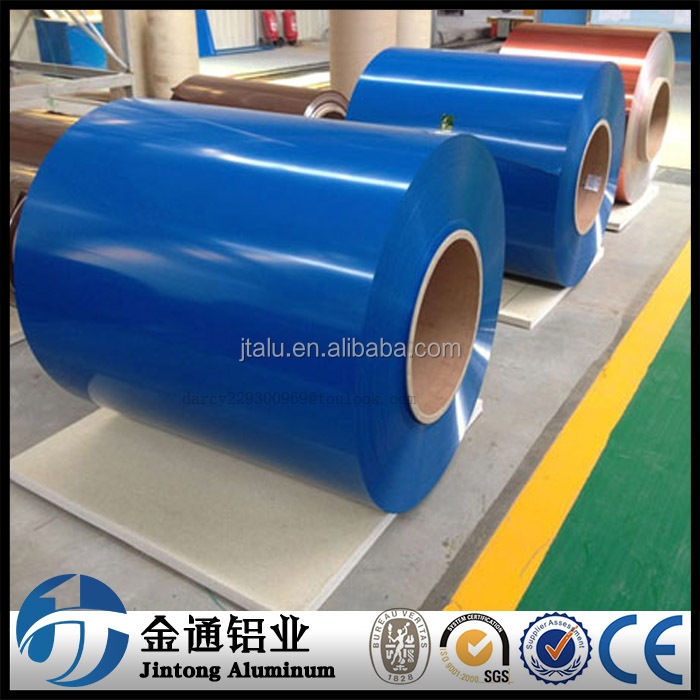 colour coated roofing sheet 3003 aluminum colored coil / strip on sale