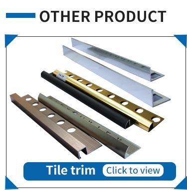 Ceramic Tile Edge Trim Wall Decorative Aluminum Tile Trim Corner Guard