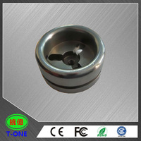 CNC stainless steel knurled cap