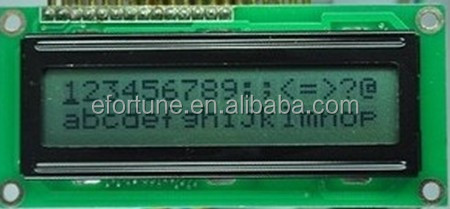 LCD 16x2 with white backlight ,LCD1602