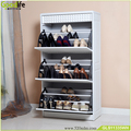 Modern furniture design wooden storage giant shoe box for art effect