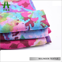 Shaoxing New Design 100% Polyester 100D Woven Flower Printed Chiffon Fabric