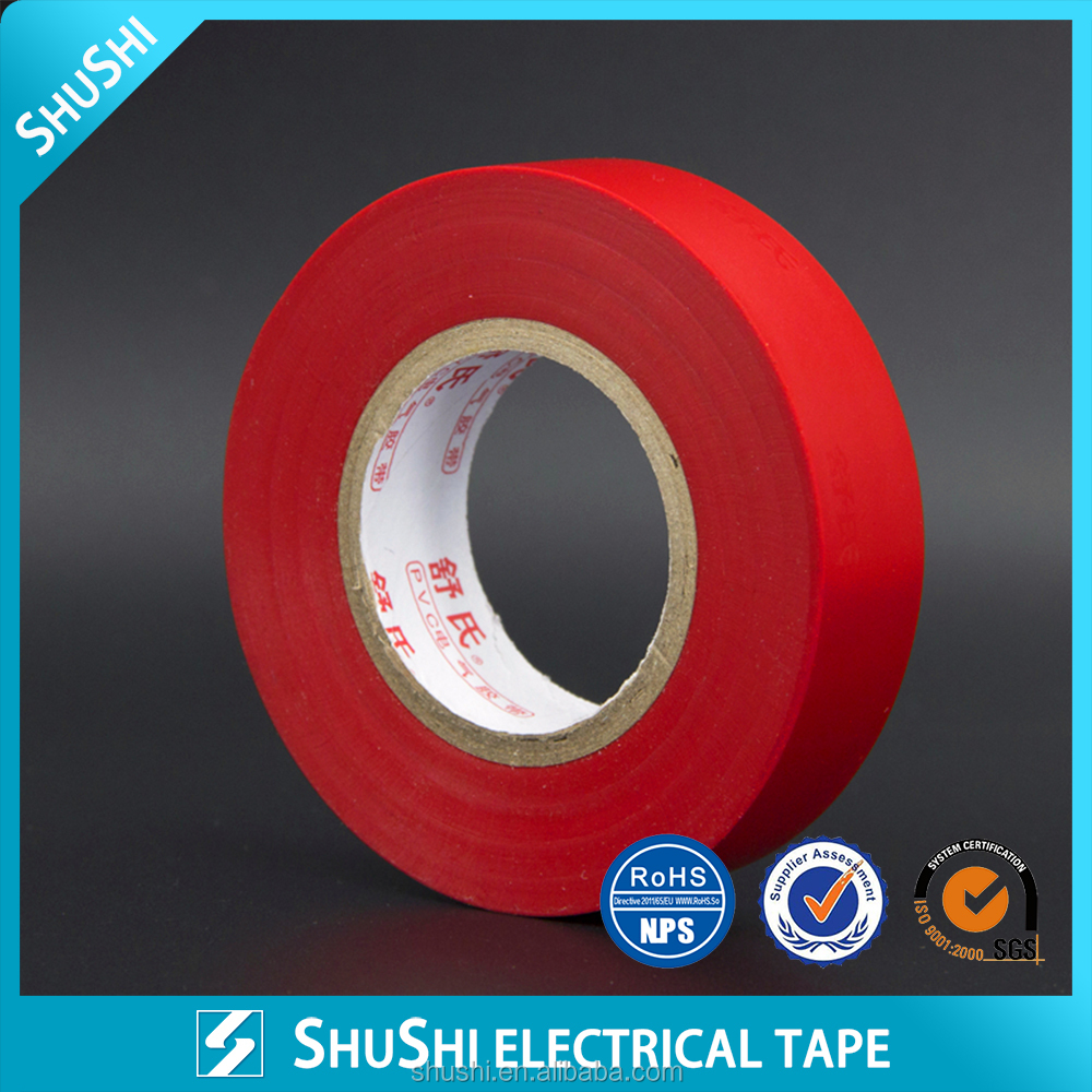 manufacture competitive price pvc electrical insulation tape best quality