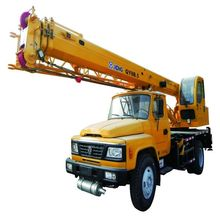 Official QY8B.5 XCMG 8ton crane control static crane truck with brick crane