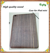 For Apple iPad Mini Solid Walnut Wood Hard Case, for ipad mini wood case protective case for apple ipad mini cover