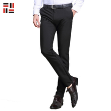 Official Dress Men Fashion Straight Long Casual Pants With Jersey