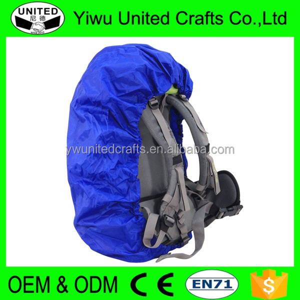 2016 reflective fabric promotional bag rain cover with logo
