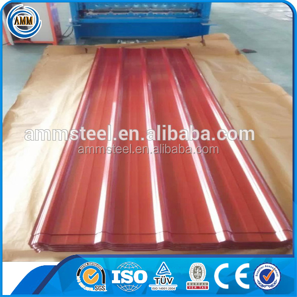 Bottom Price use corrugated metal zinc steel roofing sheets weight