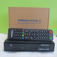 Zgemma Star S Satellite Receiver with DVB-S2 Tuner Enigma 2 Linux Operate System Zgemma S