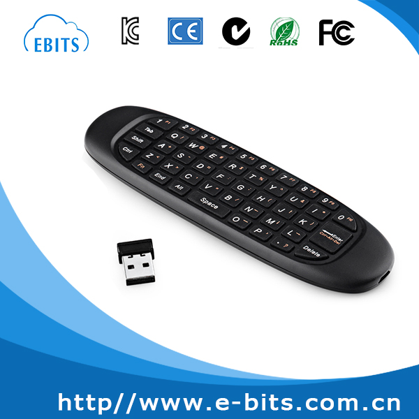 English/Russian/Arabic language private model mini keyboard for tv box