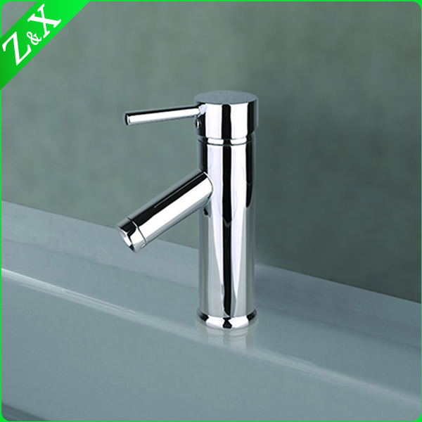 Square Handle Deck Mounted Basin Faucets Mixers Taps