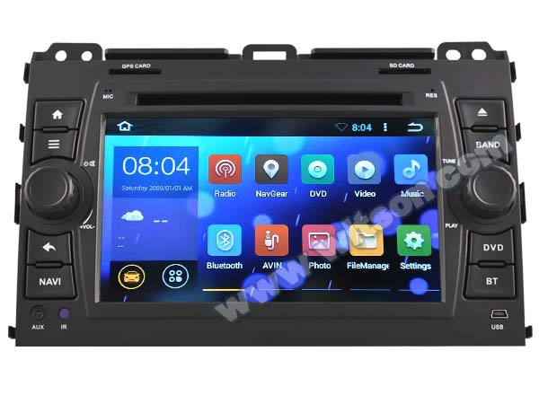 WITSON Android OS 4.4 CAR MULTIMEDIA FOR TOYOTA PRADO 120 2002-2009