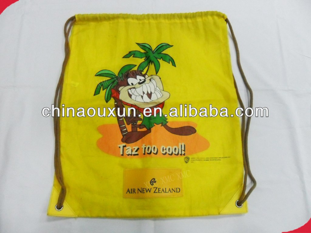 eco-friendly promotional cheap drawstring ag
