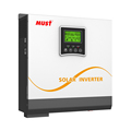 < MUST> hybrid off grid solar power supply inverter 2000w dc 24v to ac 230V with 50A solar charge controller