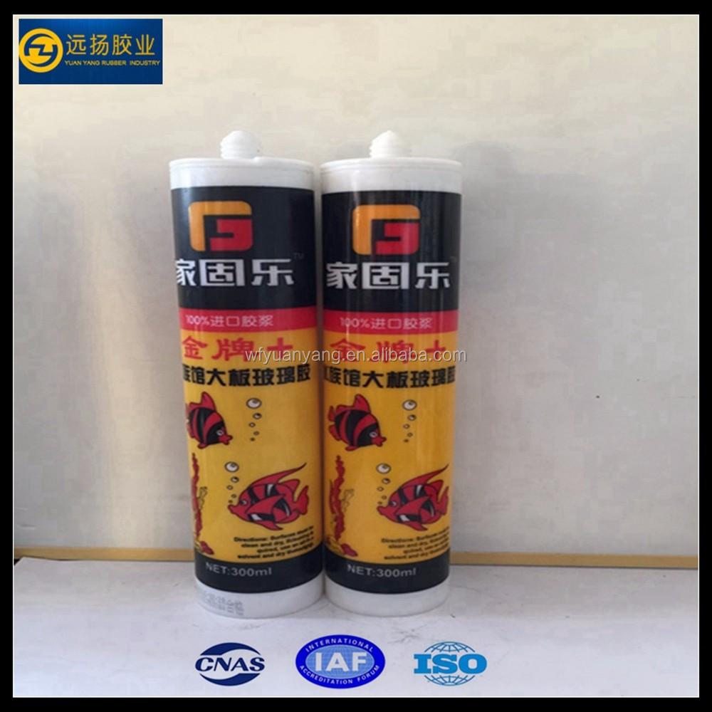 Aquarium Acetoxy Silicone Sealant With Factory Price
