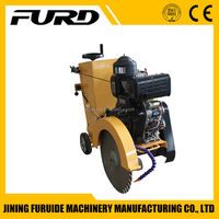 FQG-500C high quality diesel engine 9HP Road Cutter Concrete Saw