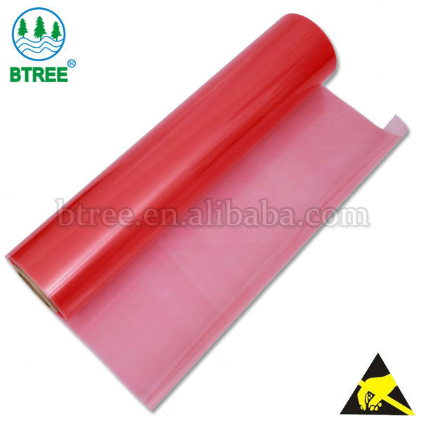 Btree Colored plastic sheets For ESD Trays