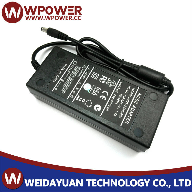 24V2A 48W AC To DC Switching Mode Power Supply Adapter