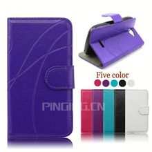 factory price flip leather case for samsung galaxy core i8260 i8262
