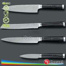 Damascus steel chef knife/VG-10 kitchen stainless steel knife