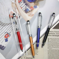 Mini crystal ball pen with IPhone or IPAD touch function