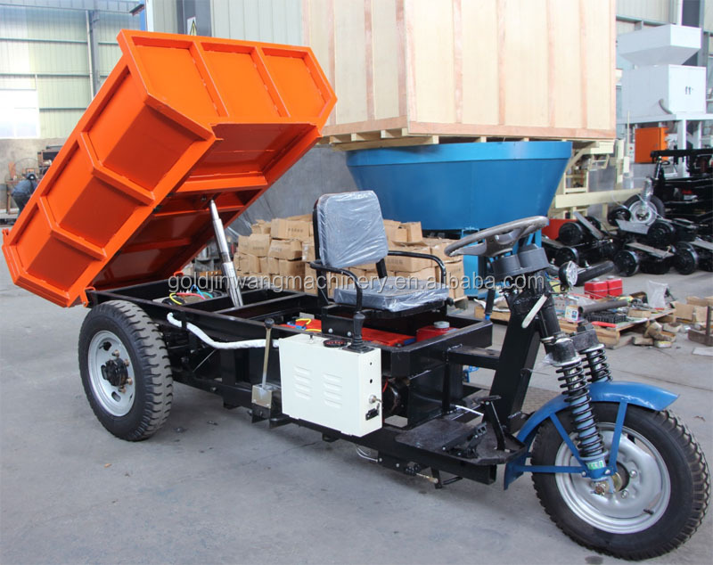 cheap mini dump truck for sale, large loading capacity electric mini dumper for sale