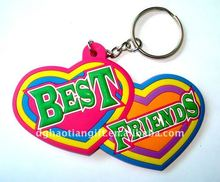 2013 Promotional soft pvc printing smart separable key chain