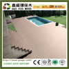 Good quality balcony wooden decking flooring wood plastic composite decking wpc Building materials