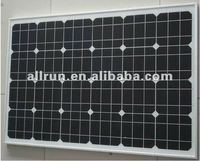 75wp Monocrystal solar panel with CE