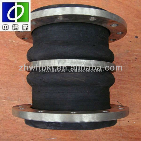 supply chemical-petrochemical industry ss pn16 double sphere screwed rubber expansion joints