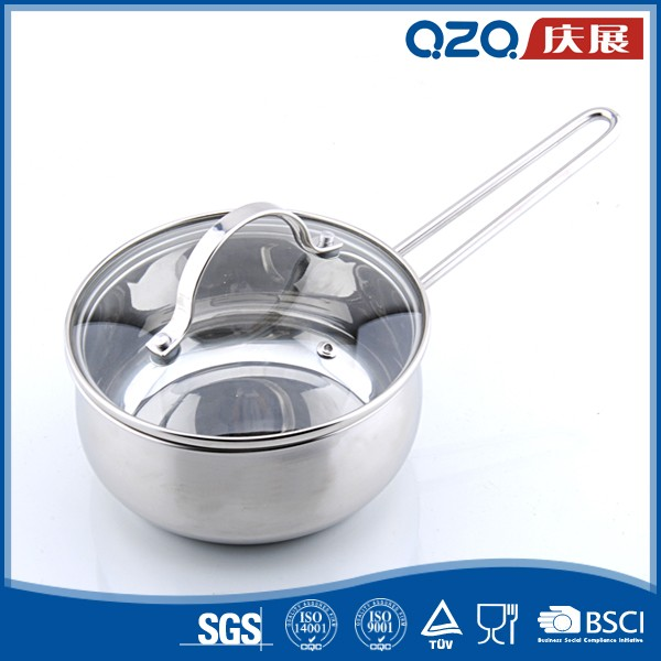 Belly shape big korean cooking stainless steel sizes stock pot