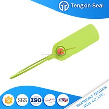 TXPS 107 Self locking trailer lock one time used plastic variable seals logistics highway seal cracked plastic
