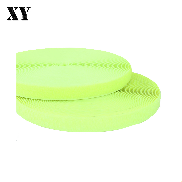 China suppliers polyester/ nylon hook and loop tape widely used for garment accessories with factory price