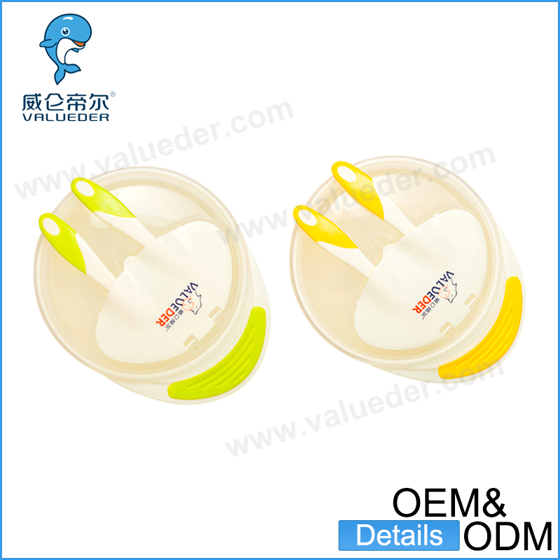Baby accessories custom Infants feeding Bowl Slip-resistant Tableware Set Baby Bowl With Sucker