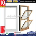 aluminium double hung window with double glazing American hardware