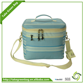 Recyclable eco-friendly wholesale foods cool carry cooler lunch bag