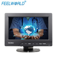 Cheap 7 inch portable mini dvd player tft screen 400cd/m2 high brightness in factory cheap price
