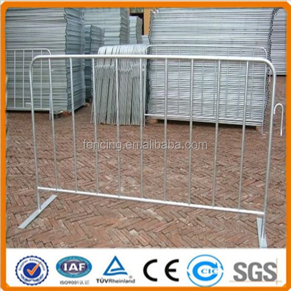 galvanized Concert crowd control temporary fence(Factory)