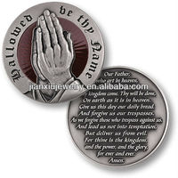 The Lord's Prayer Silver Antique coin