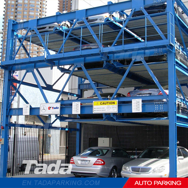 PSH Multi levels puzzle Type smart car parking garage