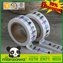 Manzawa japanese inspired wholesale stripes washi tape