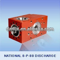 National 8-P-80 Discharge Mud Pump Fluid End Module